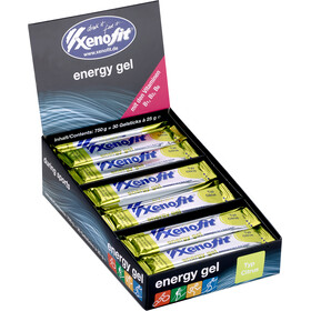 Xenofit Energy Gel Box 30x25g Citrus
